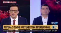 "Antena 3 a trecut de la ""afiliere"" la ""parteneriat"" cu canalul american CNN: astfel, Antena 3 devine oficial, vorba […]"