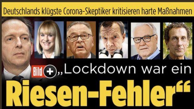 """Ediţia de ieri a celei mai citite publicaţii de pe planetă, ziarul german""""DAS BILD""""titrează:""""Carantina a fost o greşeală uriaşă""""(""""Lockdown […]"""