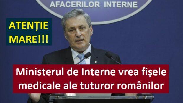 """Avocata Diana Iovanovici Șoșoacă a publicat pe pagina sa de Facebook o informație îngrijorătoare: """"Ministerul de Interne cere de […]"""