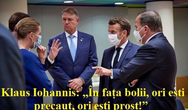 Klaus Iohannis a fost la Bruxelles pentru a-i aduce lui Ludovic Orban banii de alegeri Marți, 21 iulie 2020, […]