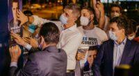 """Motto: """"Primele minute ale campaniei electorale, primele afișe lipite împreună cu Ludovic Orban și Dan Barna, care au dat […]"""