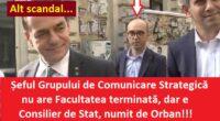 Conform ultimelor știri: Andi Manciu, numit consilier de start de Ludovic Orban – ca șef al Grupului de comunicare […]