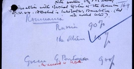 Pentru prima oară în istorie, documentul prin care Churchill a vândut România lui Stalin va vedea lumina zilei. Este […]