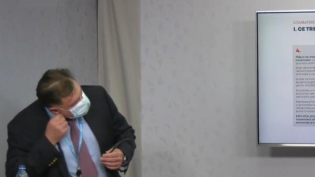 Alexandru Rafila a avut o apnee din cauza botniței, în timp ce se strofoca să prezinte planul PSD pentru […]